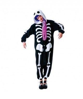 Disfraz Esqueleto Pijama Kigurumi para adulto