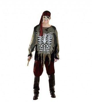 Disfraz Pirata Fantasma para hombre