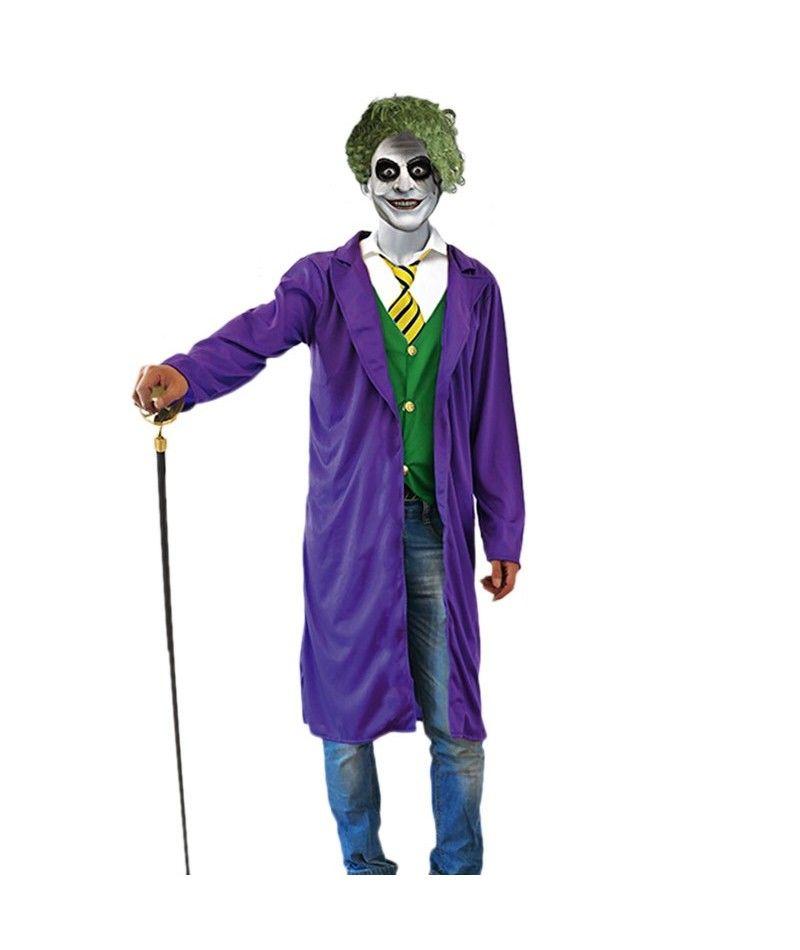 Disfraz Villano Joker hombre adulto