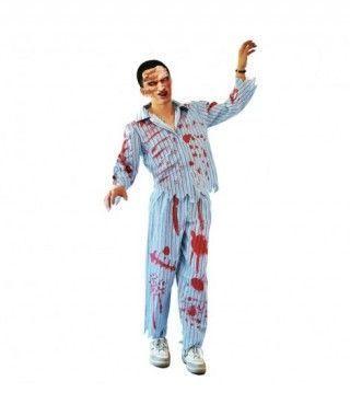 Disfraz Chico zombie en pijama para hombre