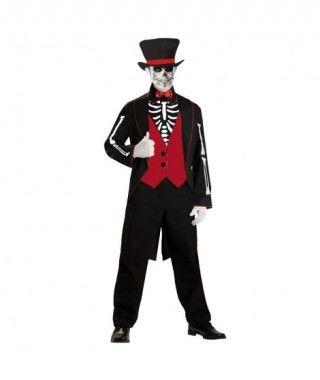 Disfraz Novio Esqueleto hombre adulto