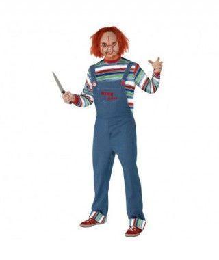 Disfraz Chucky Muñeco Diabólico hombre adulto