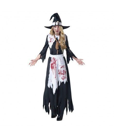 Disfraz Bruja de Salem mujer adulto