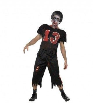 Disfraz de Jugador de Rugby zombie para hombre