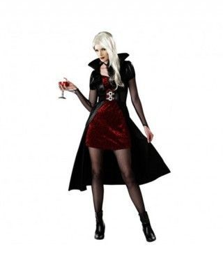 Disfraz de Vampiresa Medianoche para mujer