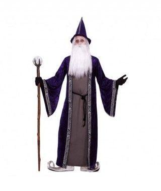 Disfraz de Brujo Mago para hombre