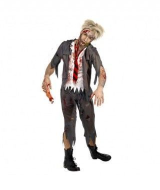 Disfraz de zombie Colegial para hombre