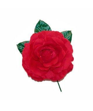 Rosa Granate Tela con Vara