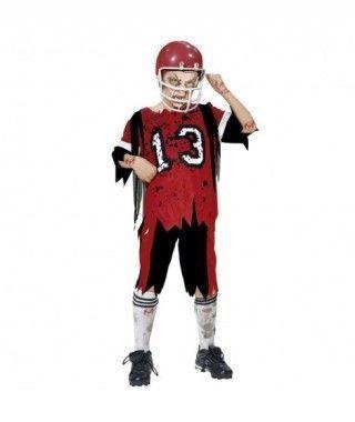 Disfraz Zombi rugbi niño infantil