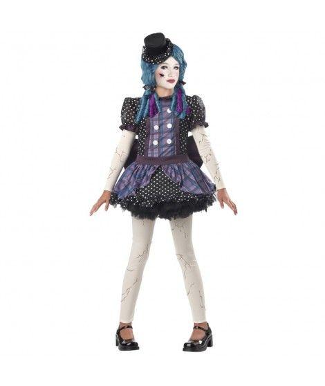 Disfraz Muñeca de Porcelana niña infantil para Halloween