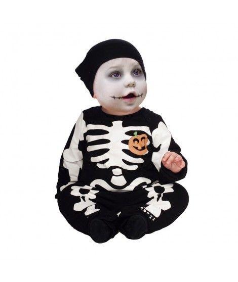 Disfraz de Esqueleto Bebé infantil Halloween