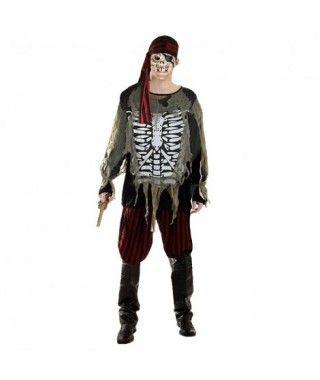 Disfraz Pirata Fantasma para niño