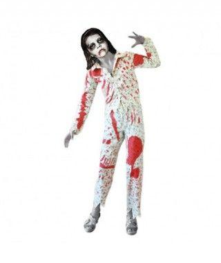 Disfraz de Niña zombie en Pijama infantil