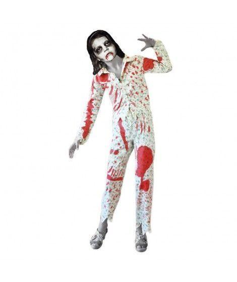 Disfraz de Nia zombie en Pijama infantil