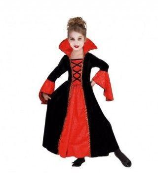 Disfraz Condesa Vampiresa para niña