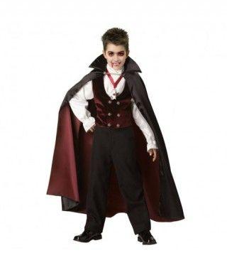 Disfraz Vampiro Granate para niño