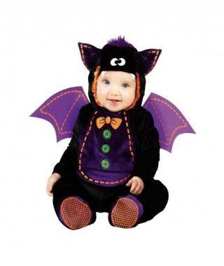Disfraz Murciélago con Pajarita infantil