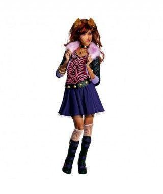 Disfraz de Chica Loba Fashion para niña
