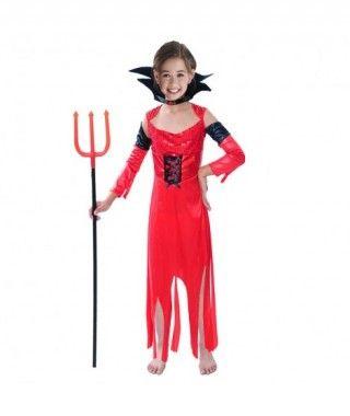 Disfraz de Demonia Sofisticada para niña
