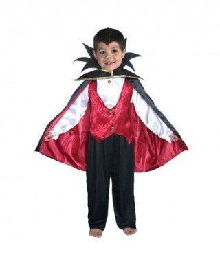 Disfraz Vampiro Conde para niño