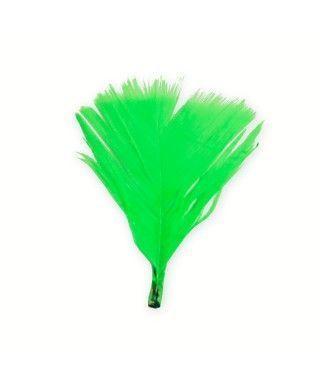 Plumón cortado Verde (12 uds)