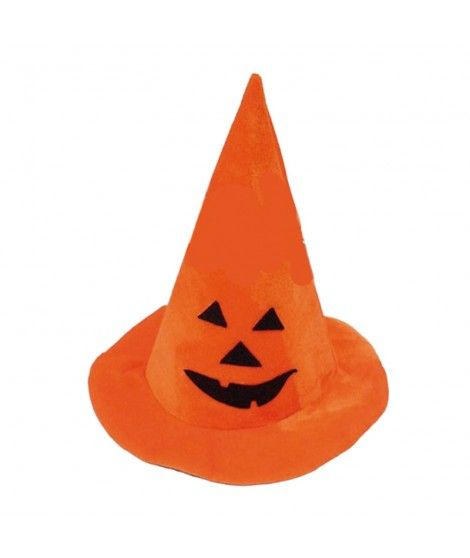 Sombrero de Bruja Calabaza Accesorio Halloween
