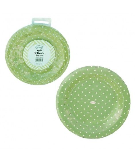 Plato de Papel desechable (12...