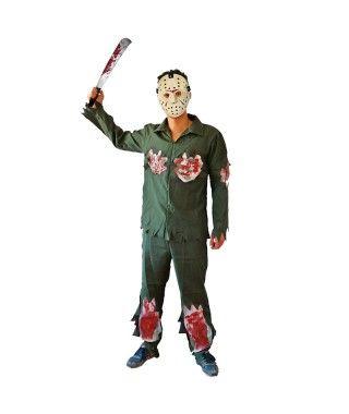 Disfraz de Asesino Jason para niño