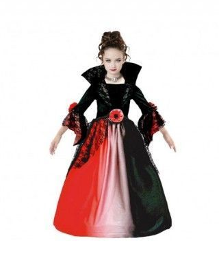 Disfraz Vampiresa Delux para niña