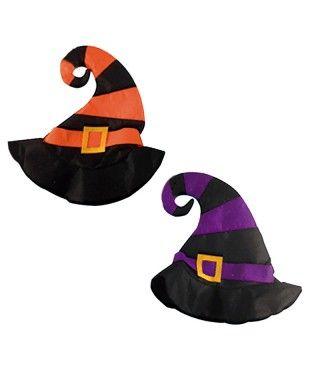 Sombrero de Bruja Torcido Rayas