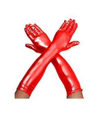 Guantes Metalizados Rojo