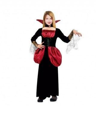 Disfraz Vampiresa Lady para niña