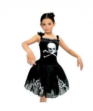 Disfraz Black Ballerina para niña