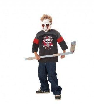 Disfraz Asesino Hockey para niño
