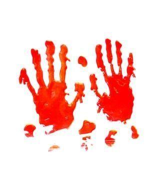 Huellas de Sangre de Manos Decoración