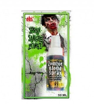 Spray Sangre Zombie Verde Artifical