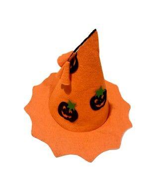 Sombrero de Bruja con Calabazas