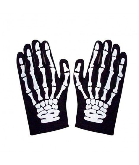 Guantes de Esqueleto cortos