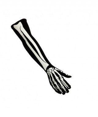 Guantes de Esqueleto largos
