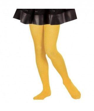 Pantys Amarillos Infantil Liso Liso