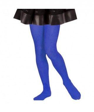 Pantys Azules Oscuros Infantil Liso Liso