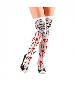 Medias Tatuaje Sangriento Halloween