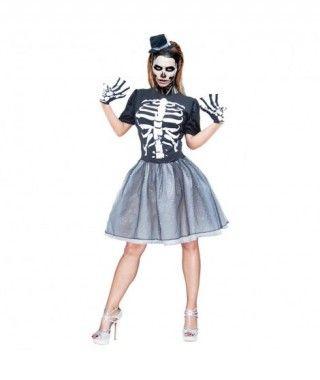 Disfraz Esqueleto Tutú para mujer