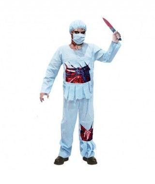 Disfraz Cirujano Zombie para hombre