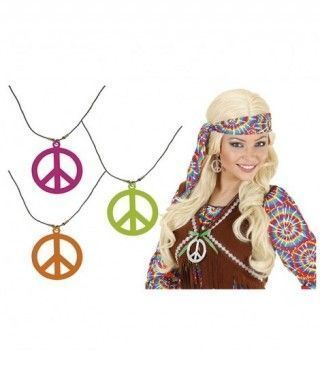 Collar Hippie Colgante...
