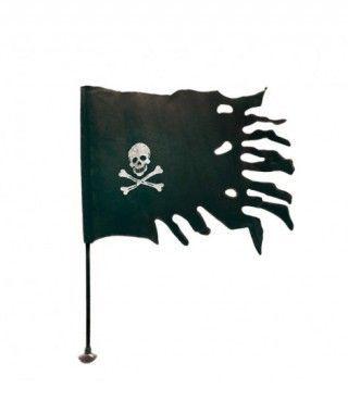 Bandera Pirata Negra
