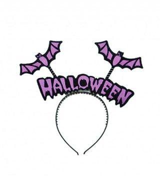 Diadema Halloween Antenas Bat