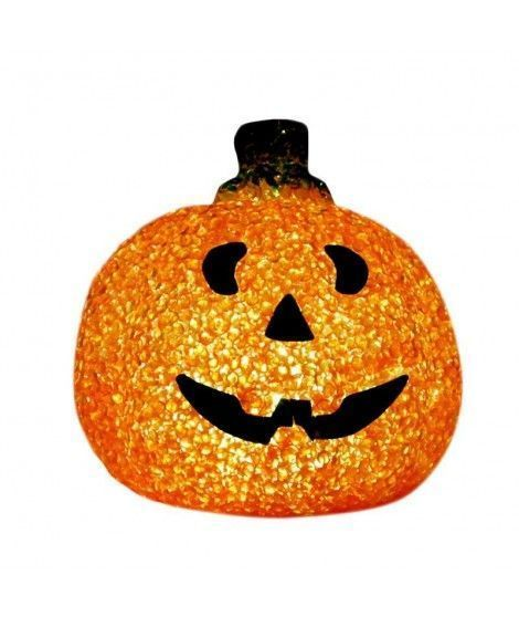 Lámpara Calabaza Hoja LED