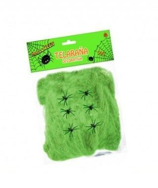 Telaraña Decorativa Verde