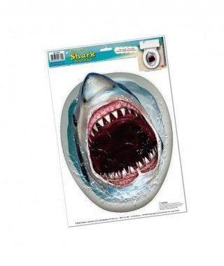 Pegatina WC Tiburón